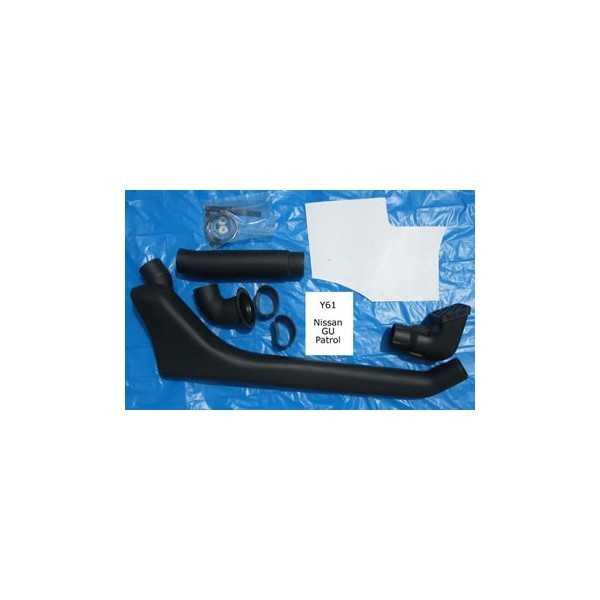 SNORKEL AIRFLOW NISSAN PATROL GR Y61 2L8-4L2 98-2000 6cyl.