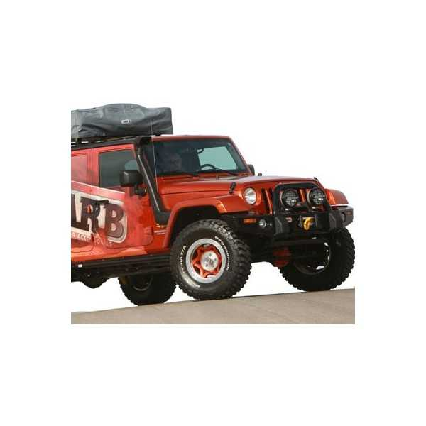 SNORKEL SAFARI JEEP WRANGLER 3.8 L et 2.8 L 6 Cyl 07-2013 Rubicon et Unlimited