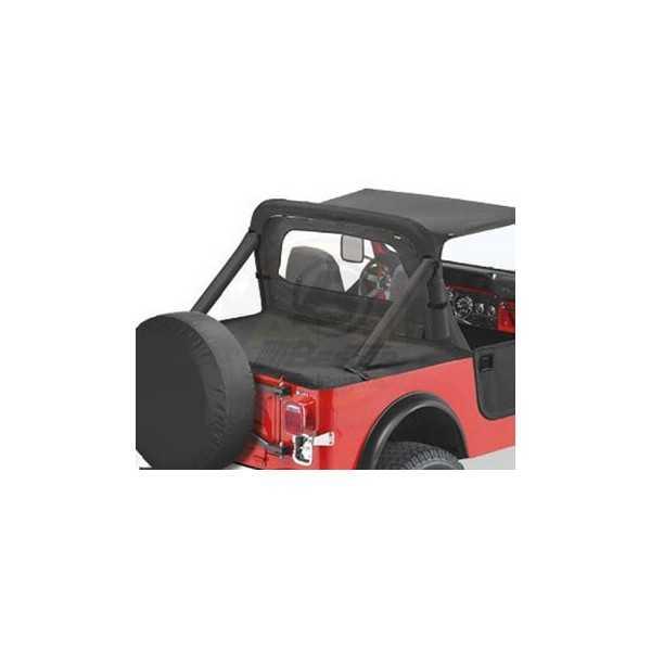 Tonneau cover Bestop® noir avec rails Jeep CJ et WRANGLER YJ 1980-1991
