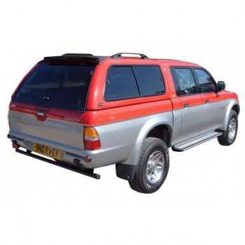 Hard top CARRYBOY blanc Mitsubishi L200 1997-2006 4 portes