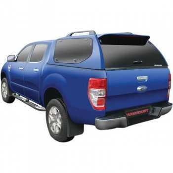 Hard top sline gls a/vitres latérales papillons Ford Ranger Super Cab 2012-