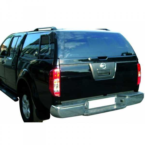 Hard top acier Nissan Navara King Cab D40 2005-2015 2 portes 4 Places