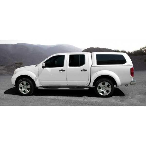 Hard top blanc avec vitres laterales Nissan Navara D40 4 portes