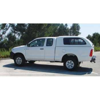 HARD TOP STAR-LUX A-VITRES LATERALES TOYOTA HILUX 2005-2015 2 Portes