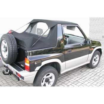 Bikini tops noir Suzuki Vitara 1988-1994