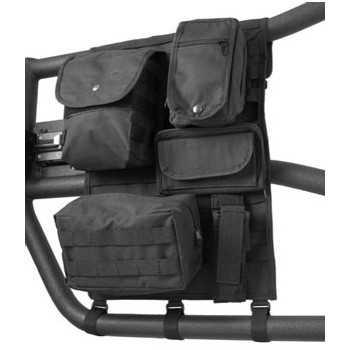 Sac de rangement pour demi porte tubulaire  Jeep Wrangler TJ et JK 1997-2018