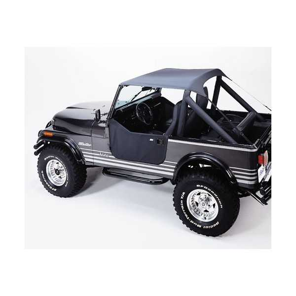 Bikini® Tops NOIR JEEP CJ 7 76-86
