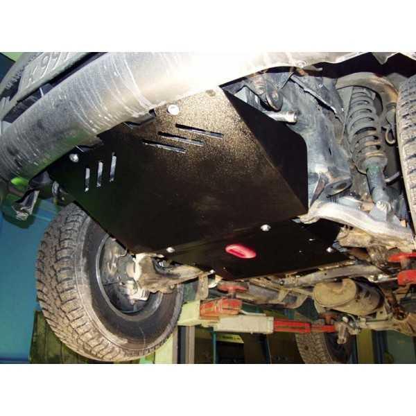 Blindage moteur acier Toyota KZJ 90-95 3.0TD, 3.0-4D, 3.1 04/1995-12/2002