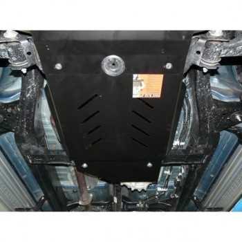 Blindage bv+bt acier Toyota Hilux Vigo 2005-2015 2.5D-4D, 3.0TD