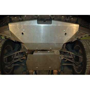 Blindage moteur aluminium LAND ROVER RANGE ROVER L322 4L2 2002-2013