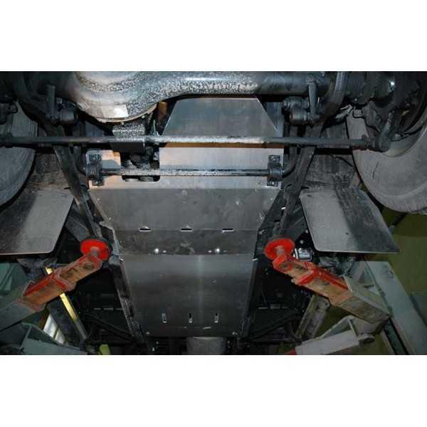Blindage bv+bt aluminium Land Rover 90-110 2004-