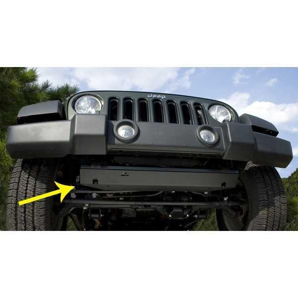 Blindage moteur acier Jeep Wrangler JK 2007-2018