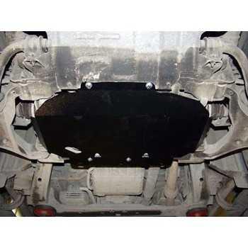 Blindage moteur acier Nissan Navara D40-Pathfinder R51 2L5 DCI 07/2005-2016