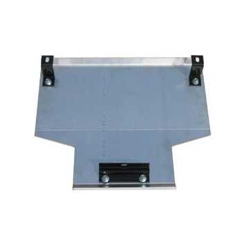 Blindage pont arrière aluminium Mitsubishi Pajero DID 3L2 2000-