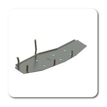 Blindage reservoir aluminium MITSUBISHI PAJERO DID 3L2 2000-2006 3 Portes