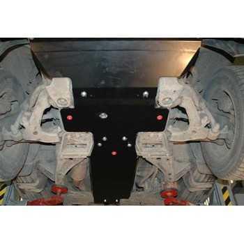 Blindage moteur acier Chevrolet Blazer