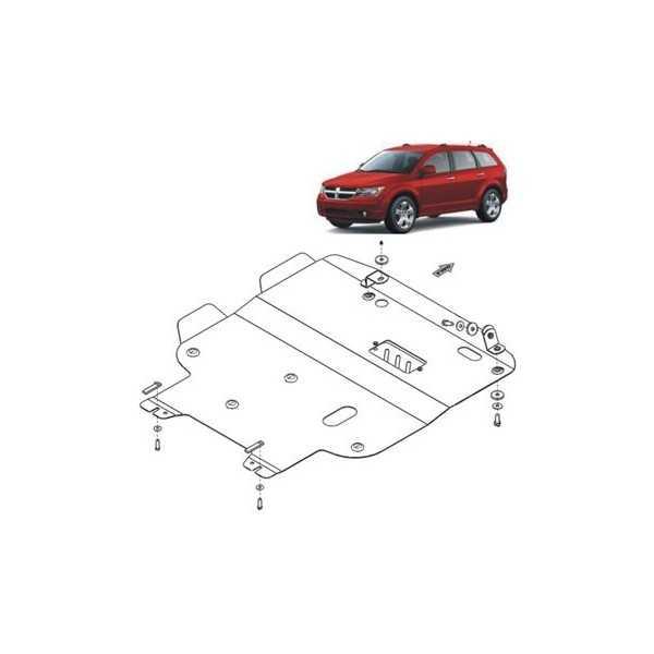 Blindage moteur acier Dodge Journey 2,4L 2008+