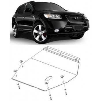 Blindage moteur acier Hyundai Santa Fe 2001-2005