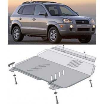 Blindage moteur aluminium HYUNDAI TUCSON 2006-2010