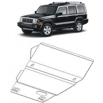 Blindage moteur acier Jeep Commander 2005-