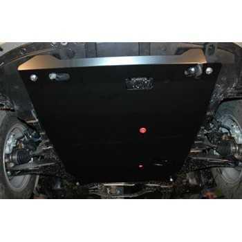 Blindage moteur aluminium MITSUBISHI OUTLANDER 2007-