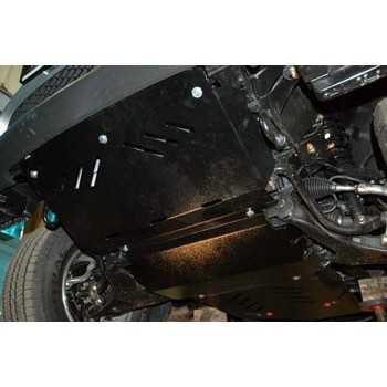 Blindage moteur aluminium MITSUBISHI PAJERO SPORT 2008-