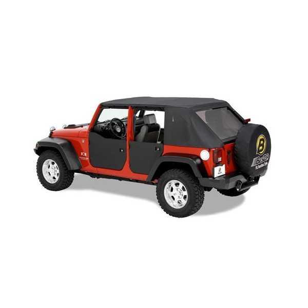 Jeu de demi-portes avant Bestop® Jeep Wrangler JK 2007-2018
