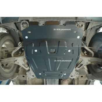 blindage moteur aluminium  SUZUKI GRAND VITARA 10-2005-