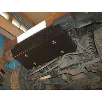 Blindage moteur acier Jeep Wrangler JK 2007-