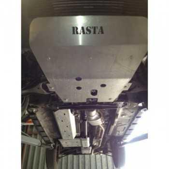 Blindage moteur aluminium RASTA Dacia Duster jusqu'à 2013