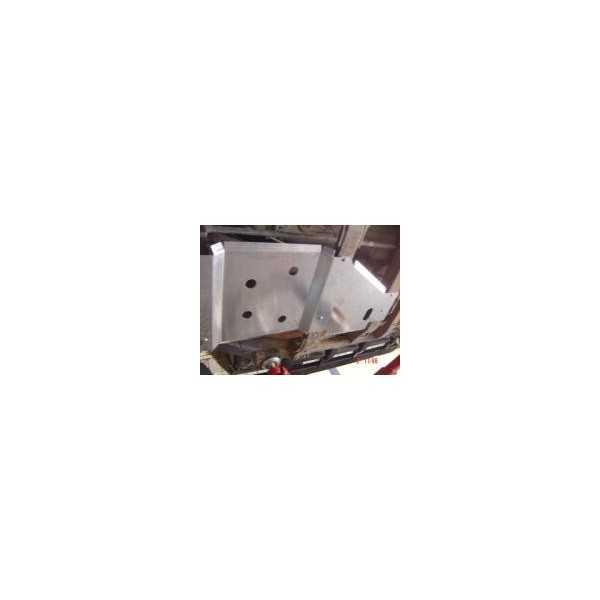 Blindage boite de transfert aluminium 8 mm RASTA Hummer H3