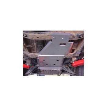 Blindage aluminium RASTA boite de vitesse HUMMER H3