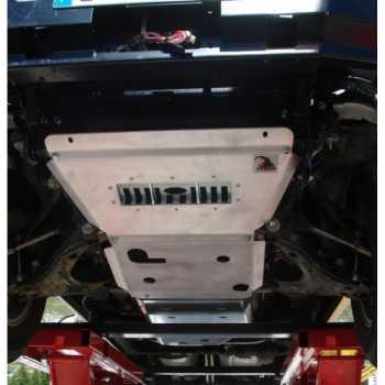 BLINDAGE RASTA COMPLET AV ET AR ISUZU D-MAX 2003-2012