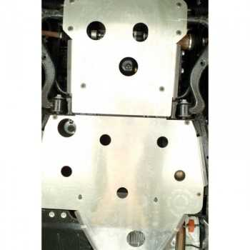 Blindage moteur aluminium RASTA Land Rover Defender 110 86-06