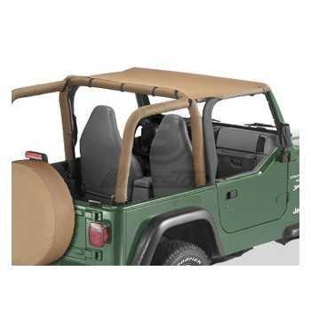 Bikini® Tops Bestop® beige jeep Wrangler TJ 1997-2002