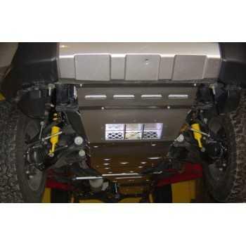 Blindage aluminium RASTA complet AV et AR Toyota FJ Cruiser