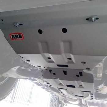 Blindage aluminium ARB complet AV et AR Toyota KDJ 120-150-FJ Cruiser 2002-2016