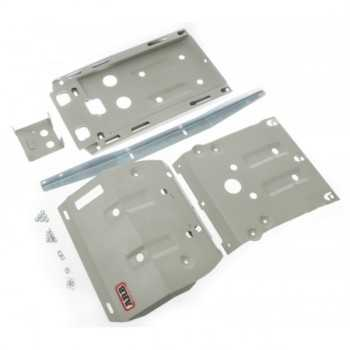 Blindage aluminium ARB complet AV et AR Toyota Hilux 2005-2015