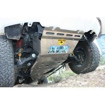 Blindage boite de transfert aluminium RASTA Toyota KDJ 120