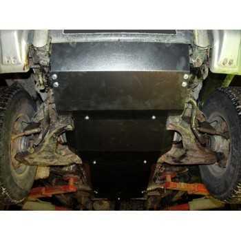 Blindage moteur acier Mitsubishi Pajero V20 04-1991-04-2000