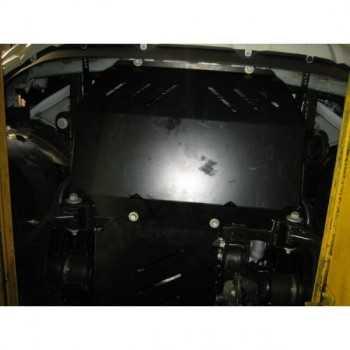 Blindage acier moteur Ford Ranger 2012+