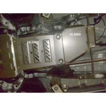 Blindage bv+bt aluminium Mitsubishi L200 2015-