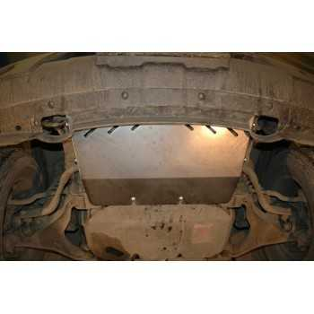 Blindage radiateur aluminium Nissan Navara D40-Pathfinder R51 de 07-2005 à 06-2010