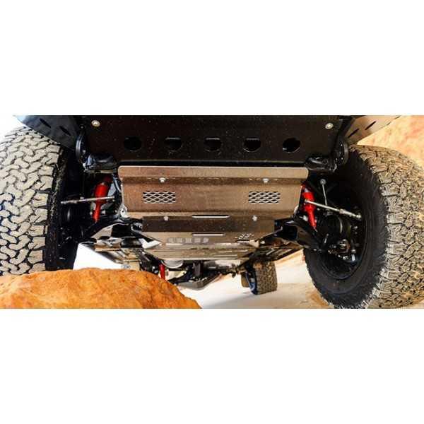 Blindage aluminium boite de vitesse Toyota Hilux 2016-
