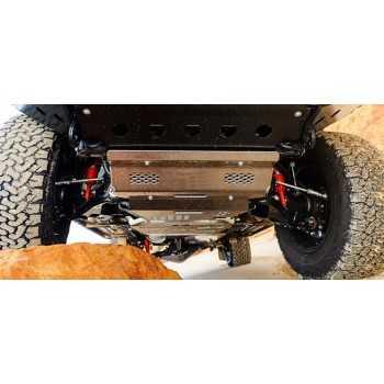 Blindage boite de vitesse aluminium Toyota Hilux 2016-