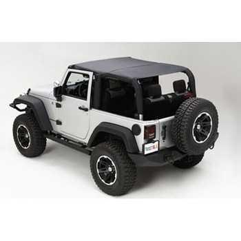 Bikini island topper noir Jeep Wrangler JK 07-09 2 portes