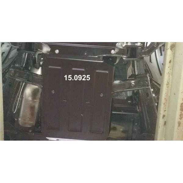Blindage acier boite de vitesse Navara NP300 2016-