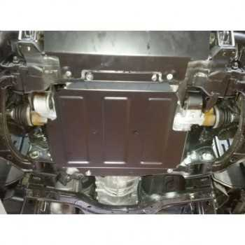 Blindage moteur aluminium noire