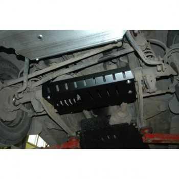 Blindage aluminium pont avant Suzuki Jimny 1,3L 1,5 L 09-1998+