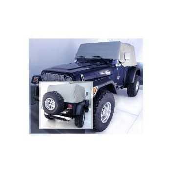 Housse exterieur gris Jeep Wrangler TJ 1997-2006